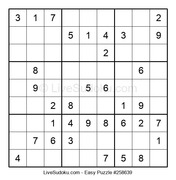 Beginners Puzzle #258639