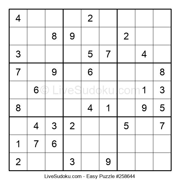Beginners Puzzle #258644