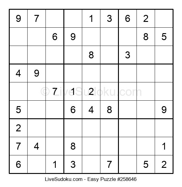 Beginners Puzzle #258646