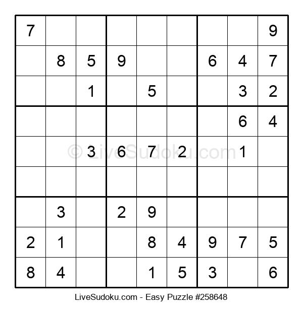 Beginners Puzzle #258648
