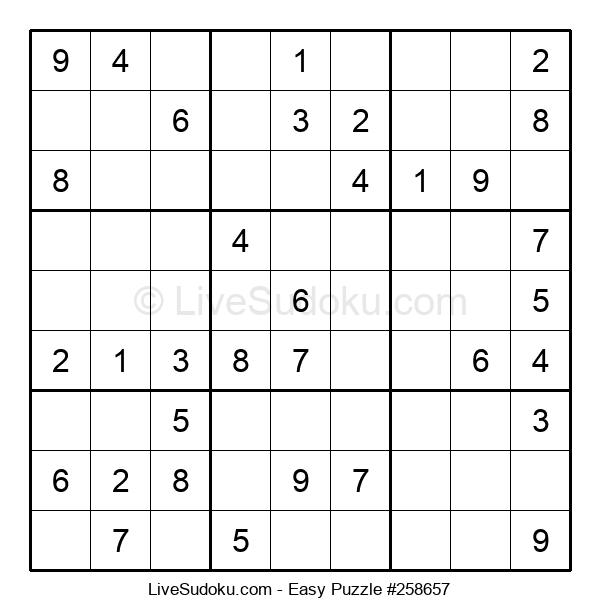 Beginners Puzzle #258657