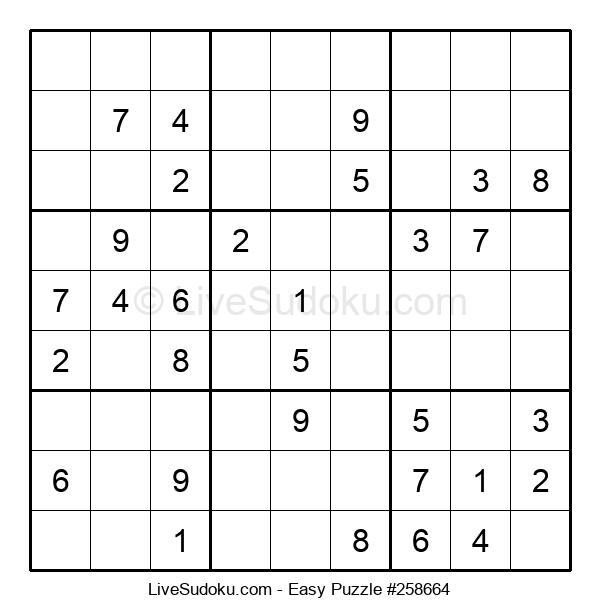 Beginners Puzzle #258664