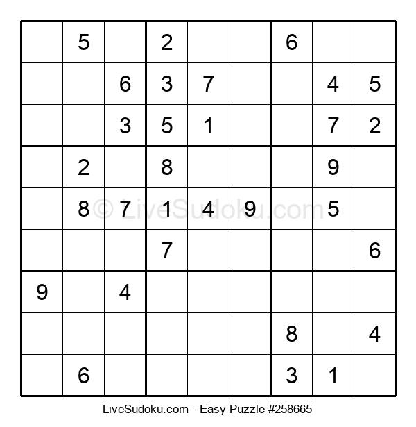 Beginners Puzzle #258665