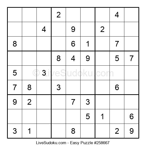 Beginners Puzzle #258667