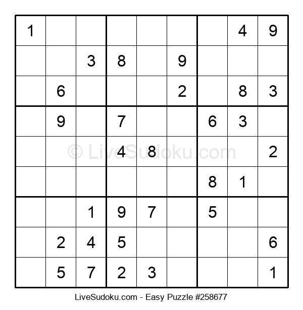 Beginners Puzzle #258677