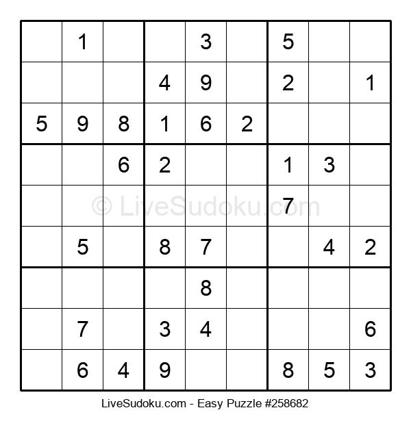 Beginners Puzzle #258682