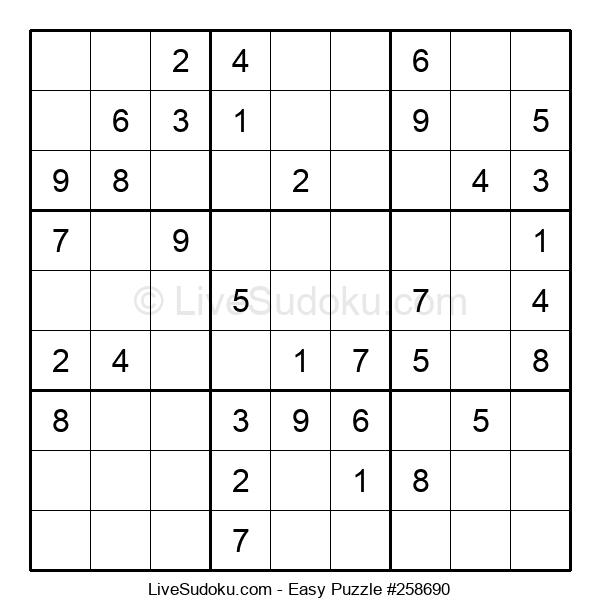Beginners Puzzle #258690