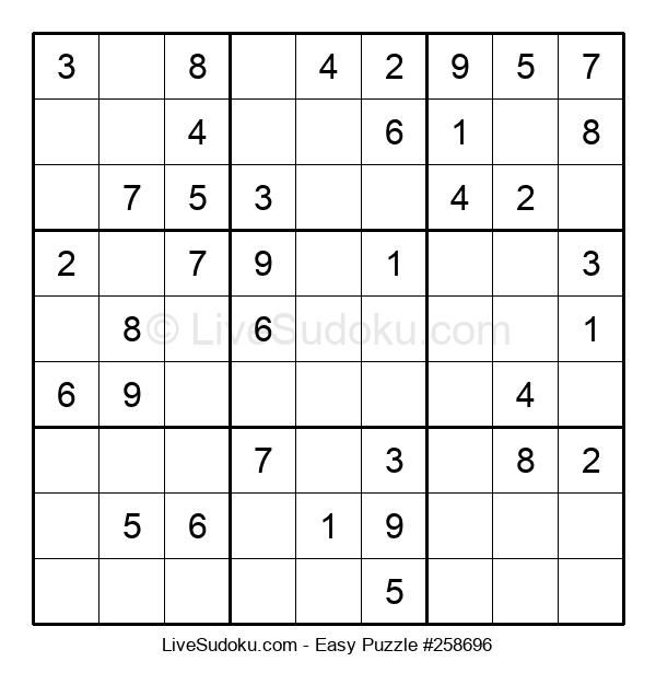 Beginners Puzzle #258696