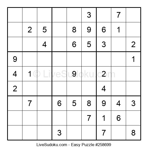Beginners Puzzle #258699