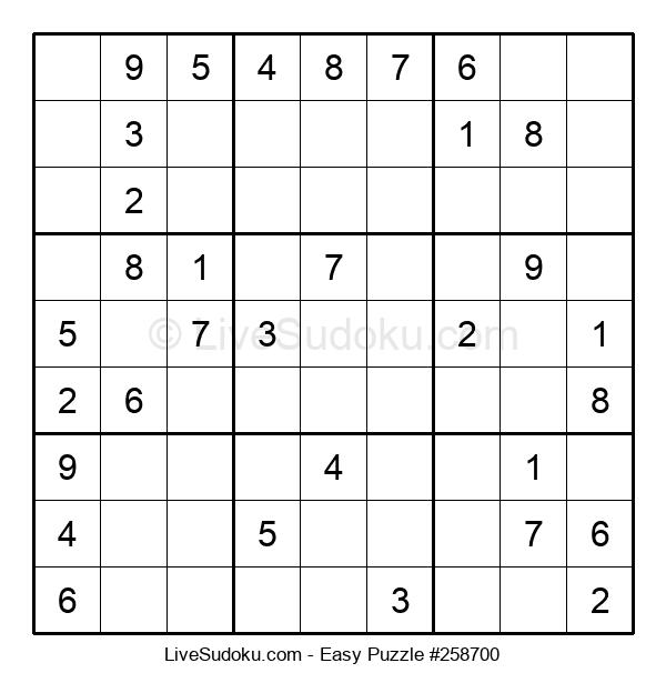 Beginners Puzzle #258700