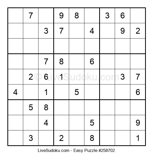Beginners Puzzle #258702