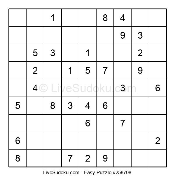 Beginners Puzzle #258708