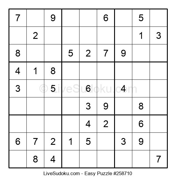 Beginners Puzzle #258710