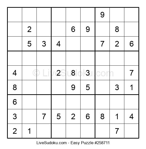 Beginners Puzzle #258711