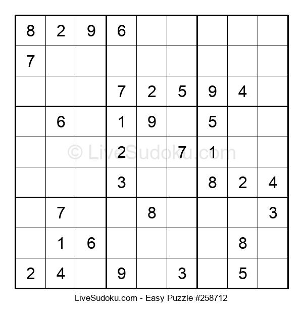 Beginners Puzzle #258712