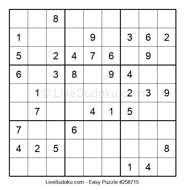 Beginners Puzzle #258715