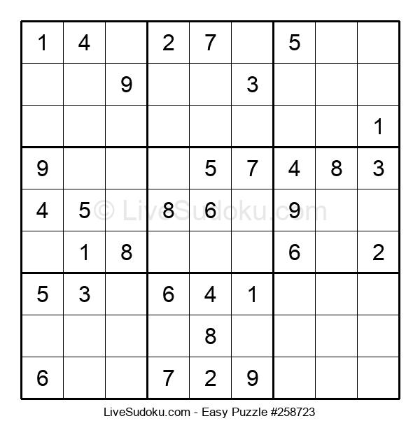 Beginners Puzzle #258723