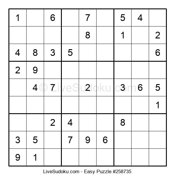 Beginners Puzzle #258735