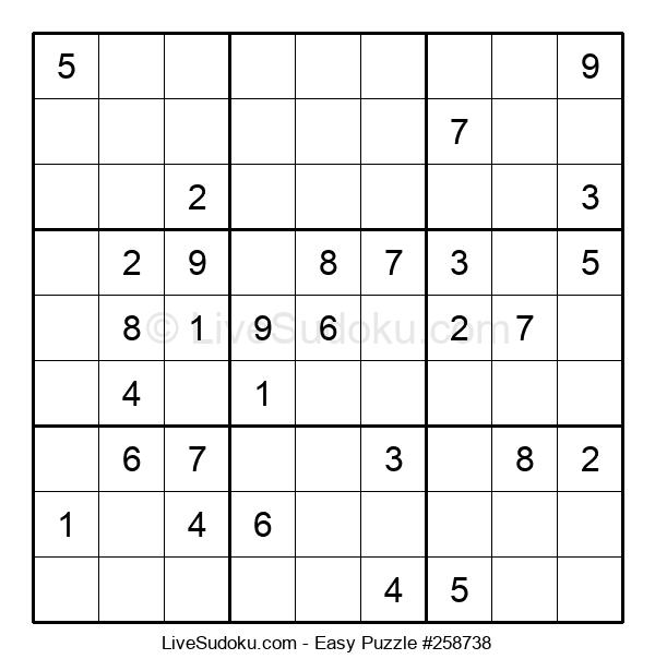 Beginners Puzzle #258738