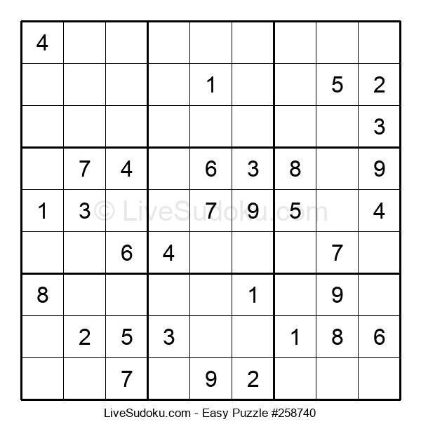 Beginners Puzzle #258740