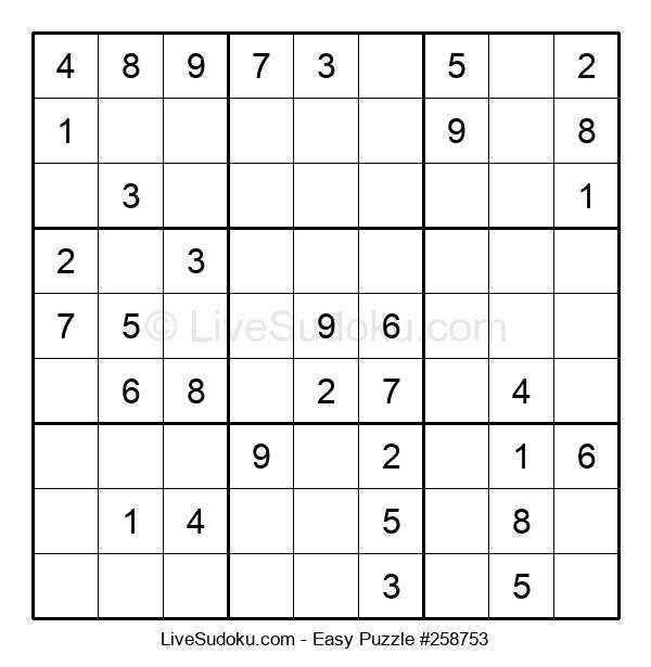 Beginners Puzzle #258753
