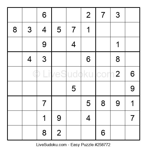 Beginners Puzzle #258772