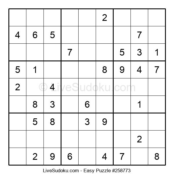 Beginners Puzzle #258773