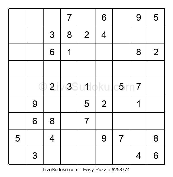 Beginners Puzzle #258774