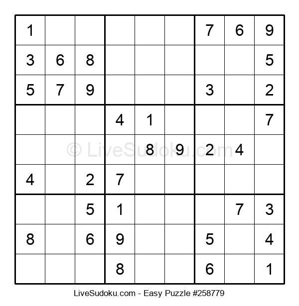 Beginners Puzzle #258779
