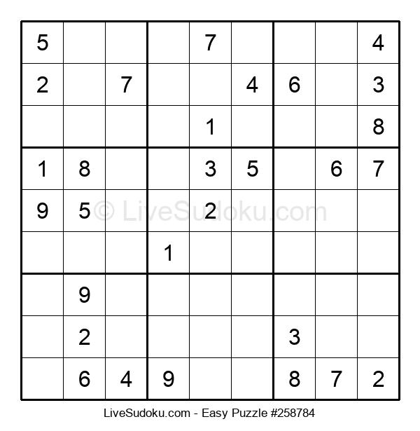 Beginners Puzzle #258784