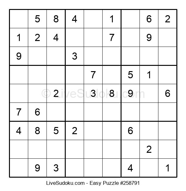 Beginners Puzzle #258791