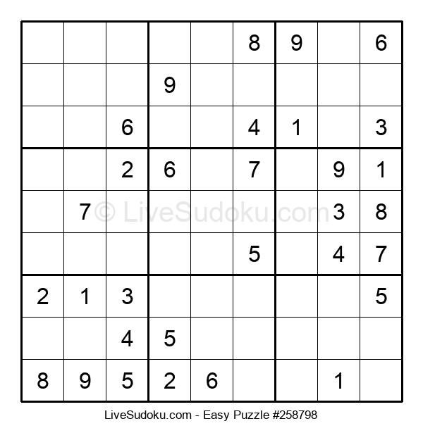 Beginners Puzzle #258798