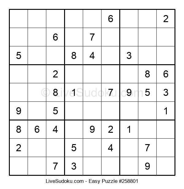 Beginners Puzzle #258801