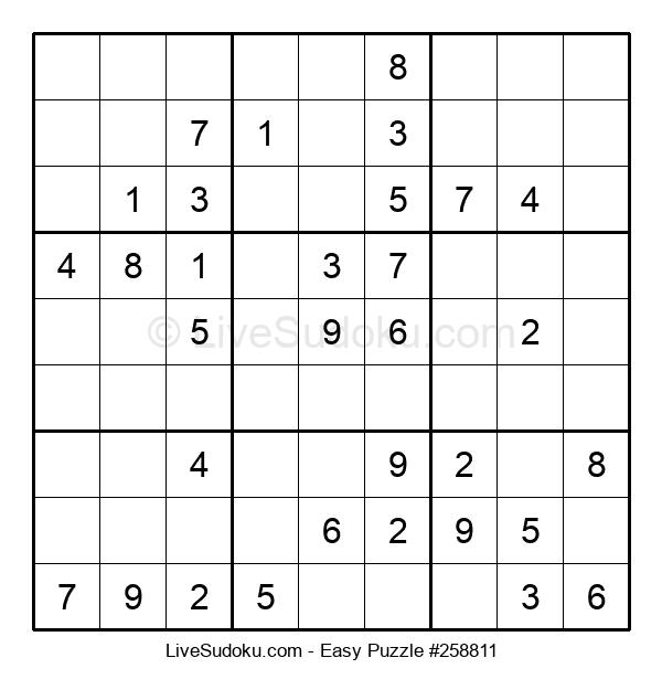 Beginners Puzzle #258811