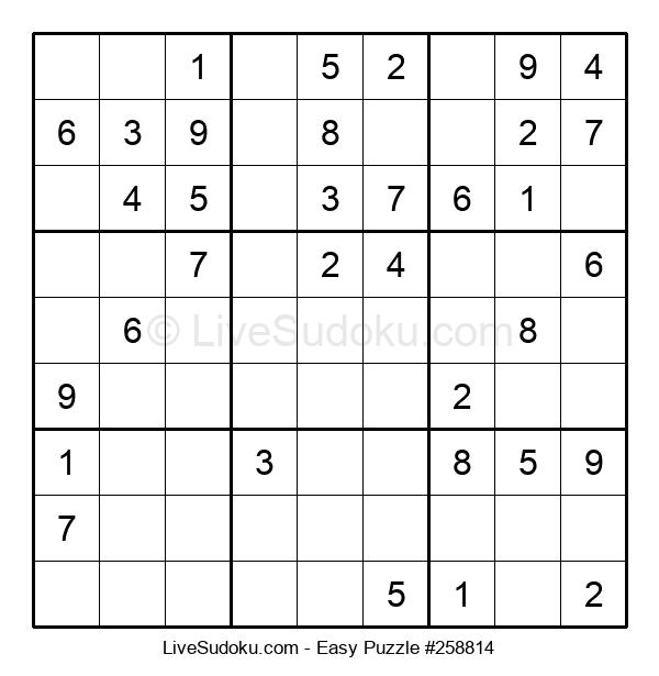 Beginners Puzzle #258814