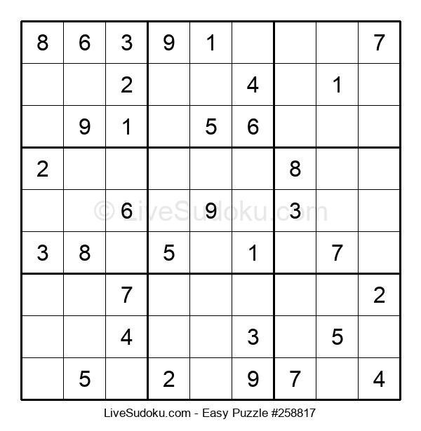 Beginners Puzzle #258817
