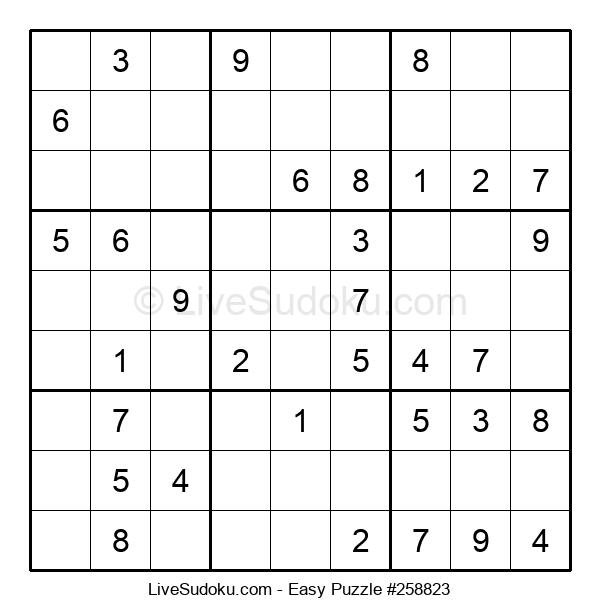 Beginners Puzzle #258823