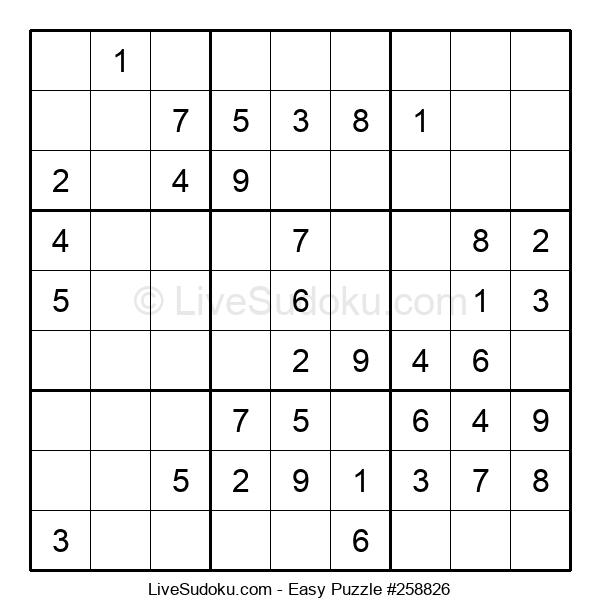 Beginners Puzzle #258826