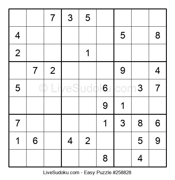 Beginners Puzzle #258828