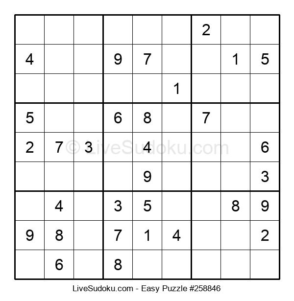 Beginners Puzzle #258846