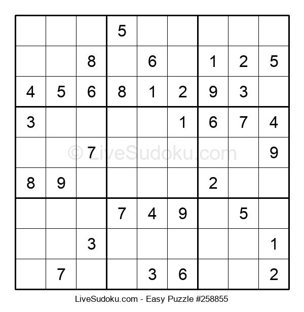 Beginners Puzzle #258855