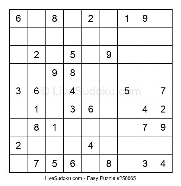 Beginners Puzzle #258865