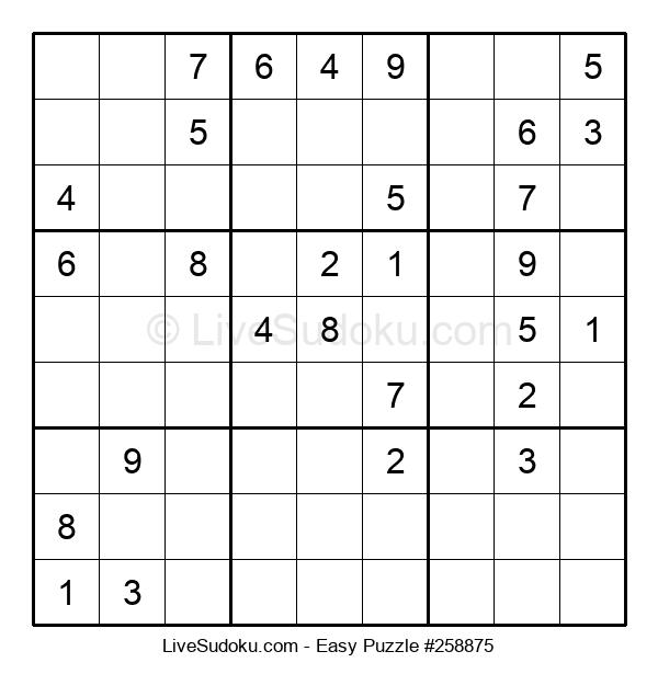 Beginners Puzzle #258875