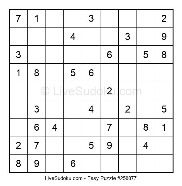 Beginners Puzzle #258877
