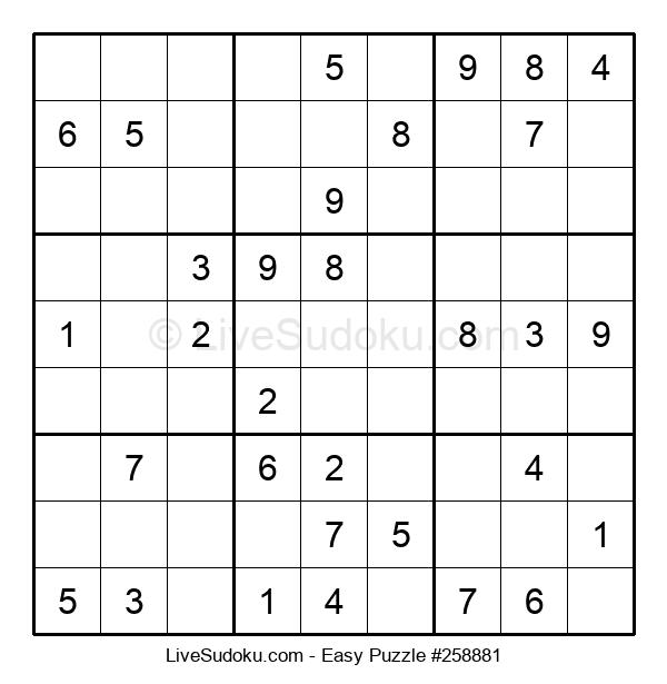Beginners Puzzle #258881