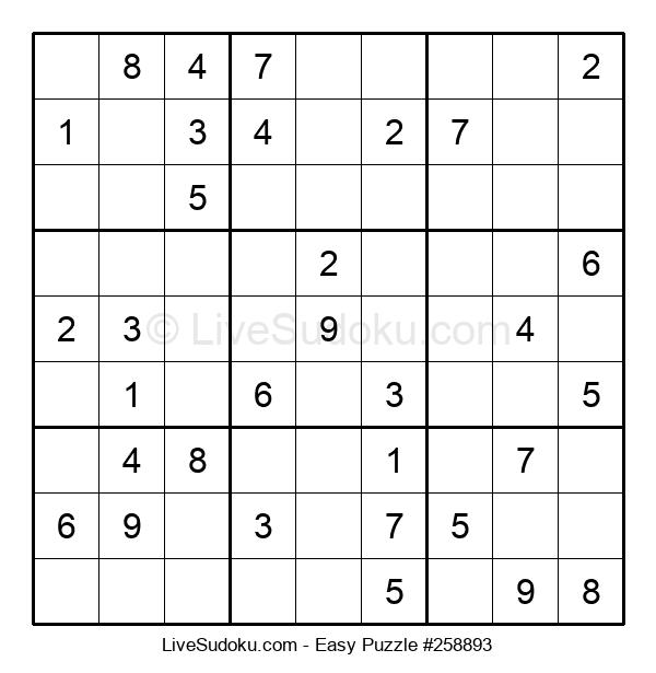 Beginners Puzzle #258893