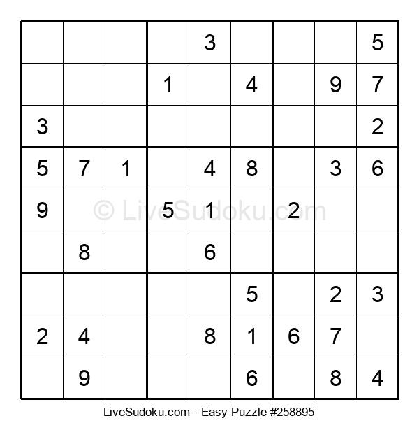 Beginners Puzzle #258895