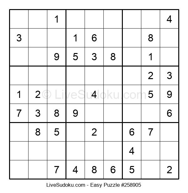 Beginners Puzzle #258905