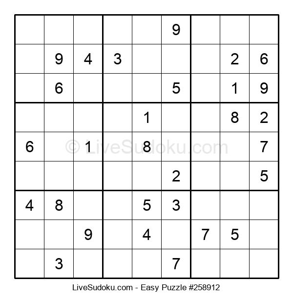 Beginners Puzzle #258912