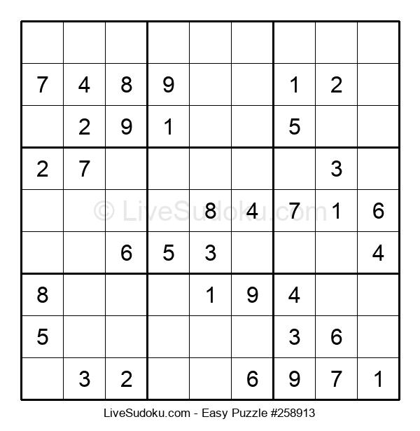 Beginners Puzzle #258913